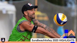 Men Beach Volleyball Day 2 Highlights - #EuroBeachVolley 2020
