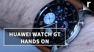 Huawei Watch GT Wrist-On | See the Light