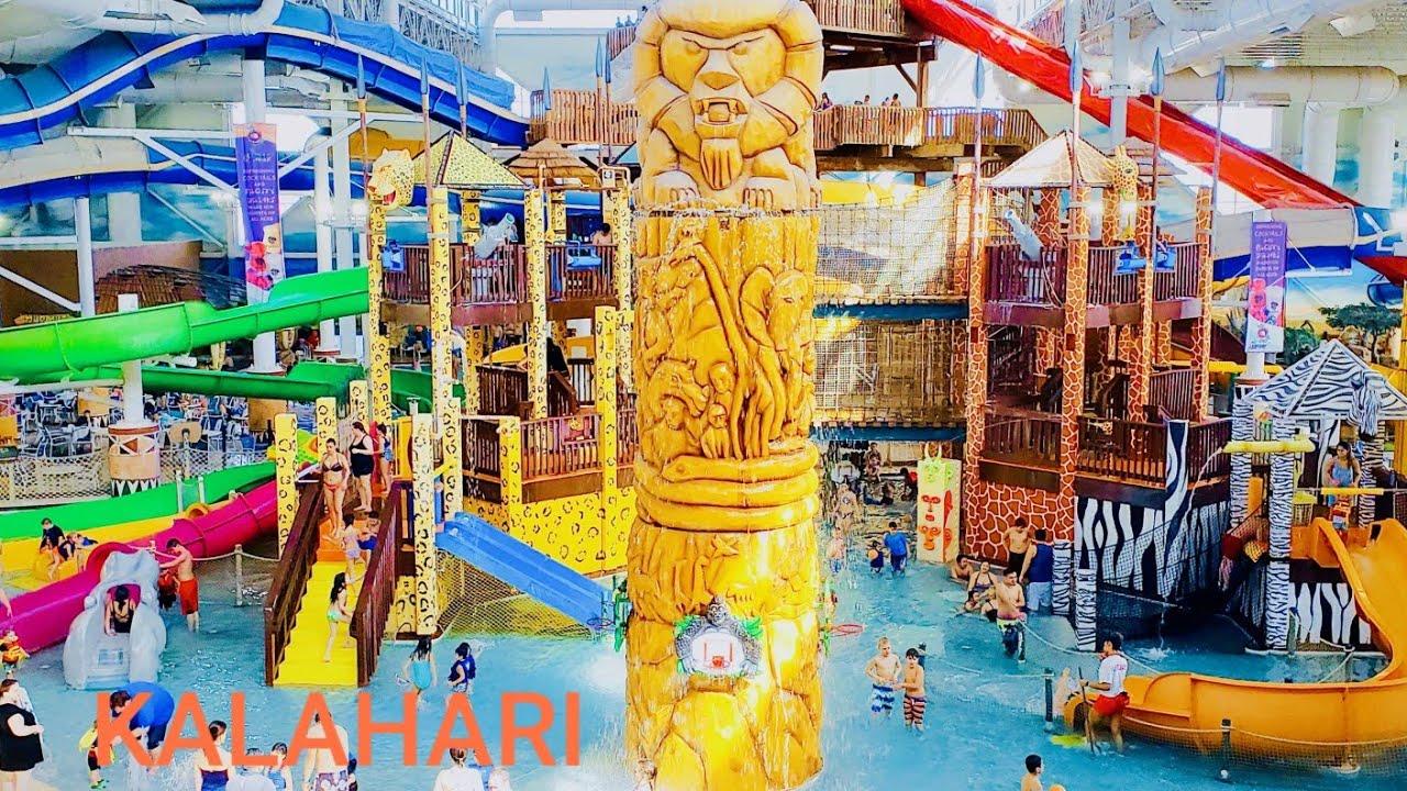 wisconsin dells kalahari indoor water park theme park. Black Bedroom Furniture Sets. Home Design Ideas