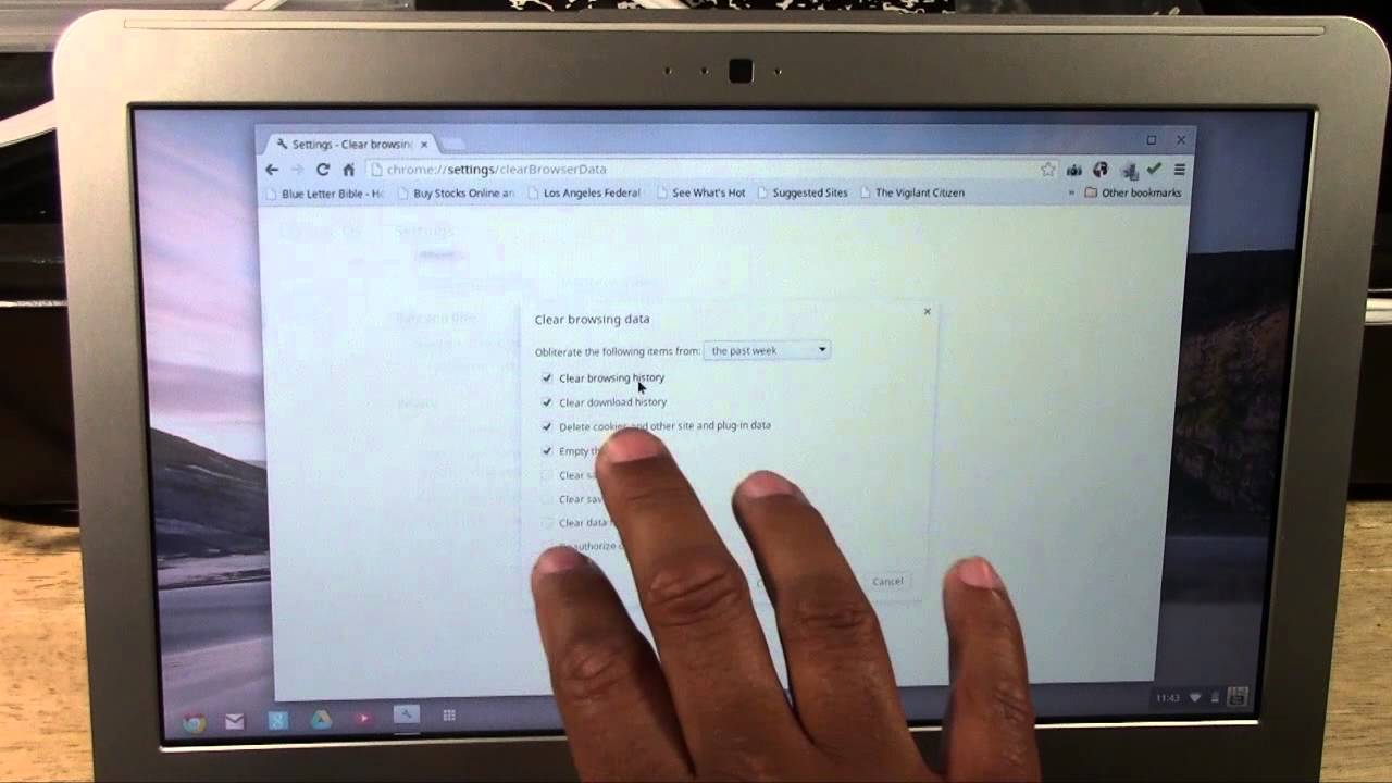 Chromebook How To Clear Your Web History H2techvideos Youtube,Best Places To Travel