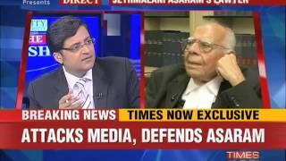 The Newshour Debate: Defends Asaram, attacks media