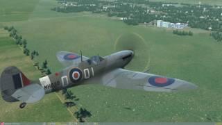 DCS World Spitfire Ground Attack
