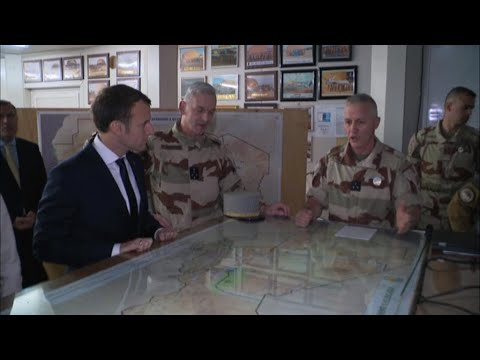 French president in Niger to support military forces
