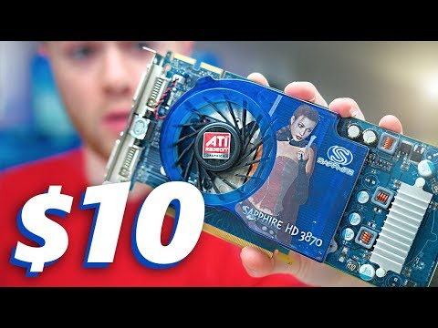 Gaming with a $10 Graphics Card?