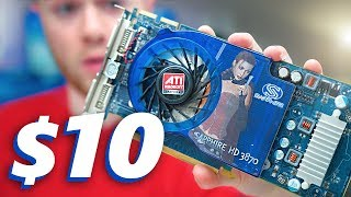 gaming with a 10 graphics card