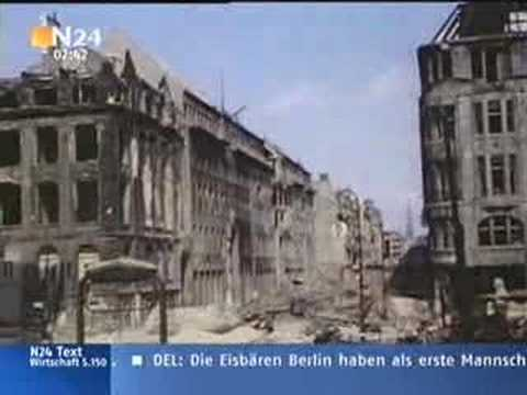 Berlin 1945: A City Destroyed by war in colour