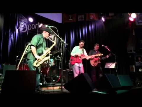 Jay Moynihan at sportsman tavern with CHICAGO Blues Connect