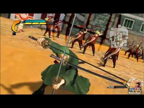 One Piece Pirate Warriors 2 All Special Attacks