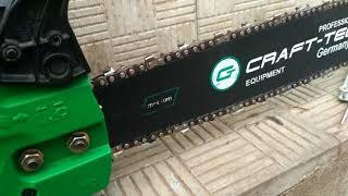 видео Цепная бензопила Craft-Tec CT-5600 недорогая