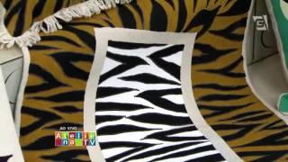 Acrilex – Artesanato – Tapete Zebra