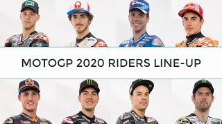 MOTOGP 2020 RIDERS LINE-UP INCLUDING STATS
