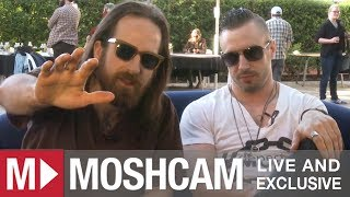 The Dillinger Escape Plan confess to never practicing and almost killing HeavyHeavyLowLow | Moshcam