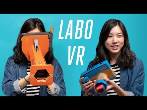 Nintendo Labo VR kit review: a playful, bite-sized virtual reality arcade