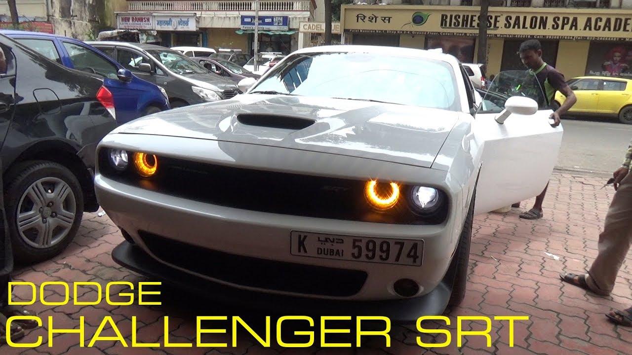 Dodge Challenger Srt 392 Hemi In Mumbai India Youtube