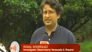 Ronal Rodríguez del Observatorio de Venezuela del Rosario, analiza la xenofobia en Colombia