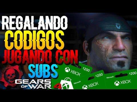 Gears Of War 4 | ¡Regalando códigos! (Xbox Live GOLD- 200$ Prepago) TROLLEANDO CANALES!