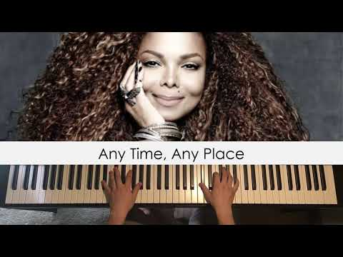 Janet Jackson - Any Time Any Place (Piano Cover) | Dedication #517