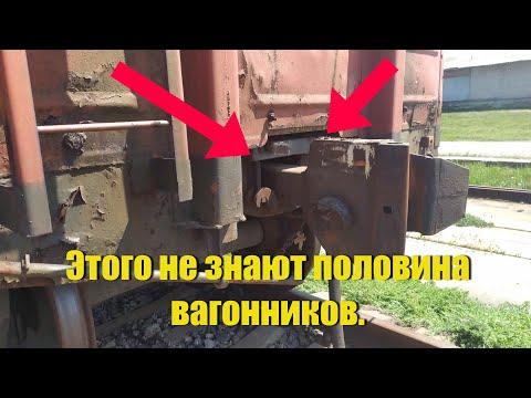 Загадка! Как снимается маятниковая подвеска в крытом вагоне? Вагонник. Железная дорога.