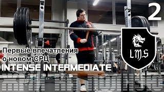 Жим лёжа без химии по системе LMS Intense Intermediate Видео: 2