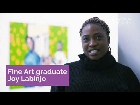 Newcastle University Graduate Showcase: Fine Art graduate Joy Labinjo