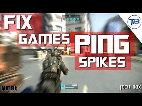 FIX WIFI PING SPIKES / HIGH PING FIX (HINDI)