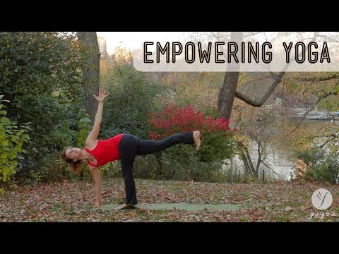 Empowering Yoga Routine: Ride The Challenge (intermediate level)