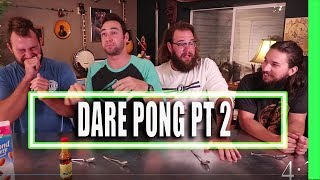 Dare Pong Losers Challenge Hot Sauce