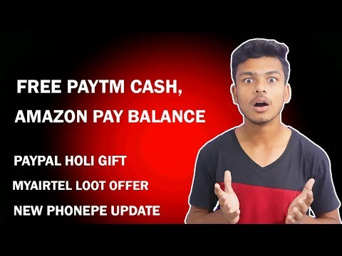 Freecharge Copies Paytm, Cubber Holi Offer, Paypal Offer
