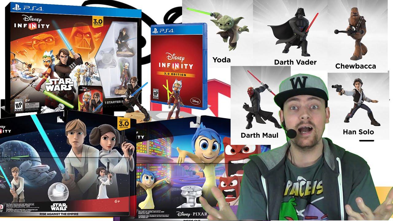 Disney Infinity 3 0 Episode Star Wars Inside Out Amp Marvel