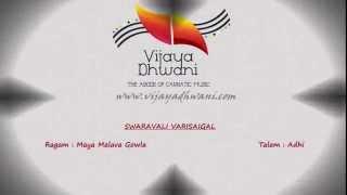 Carnatic Music Lessons - Swaravali Varisaigal - Part 1