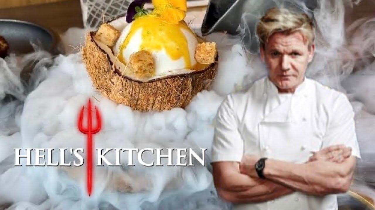 Gordon Ramsay Hell S Kitchen Luxury Lunch Caesars Las Vegas Restaurants Youtube