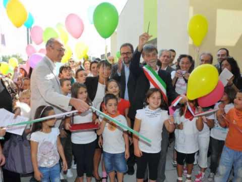 Reggio emilia inaugurata la scuola di villa bagno youtube