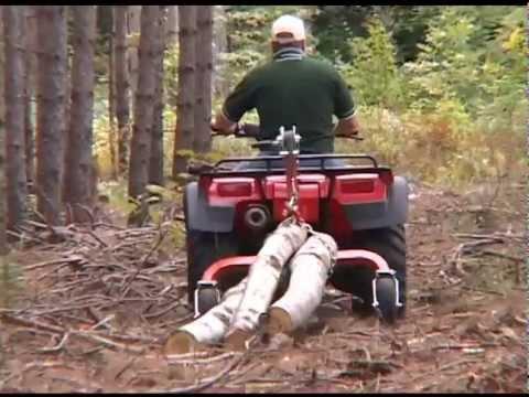 Log Skidding & Tree Harvesting Equipment by Norwood Portable Sawmills