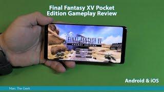 Final Fantasy XV Pocket Edition Gameplay Review (Android/iOS)