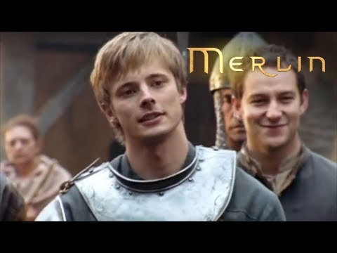 Download Merlin - Series 1 - Episode 1 - Merlin and Arthur Fight (2008)