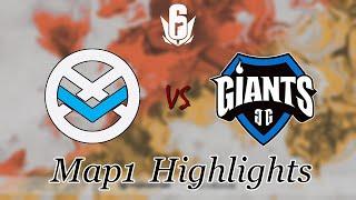 Xavier Esports vs Giants Gaming Map1 クラブハウス | Six August 2020 Major - APAC - ハイライト【レインボーシックス シージ】