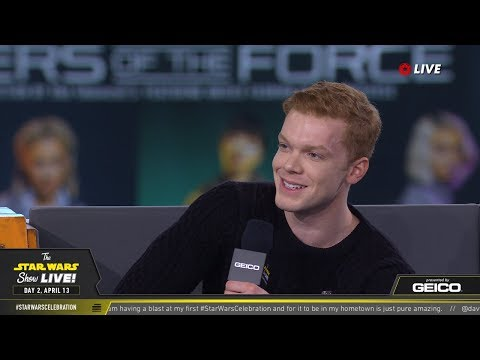 Cameron Monaghan Takes The Stage At SWCC 2019 | The Star Wars Show Live!