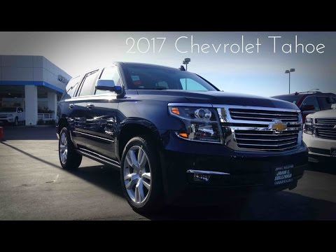 2017 Chevrolet Tahoe Premier 5.3 L V8 Review