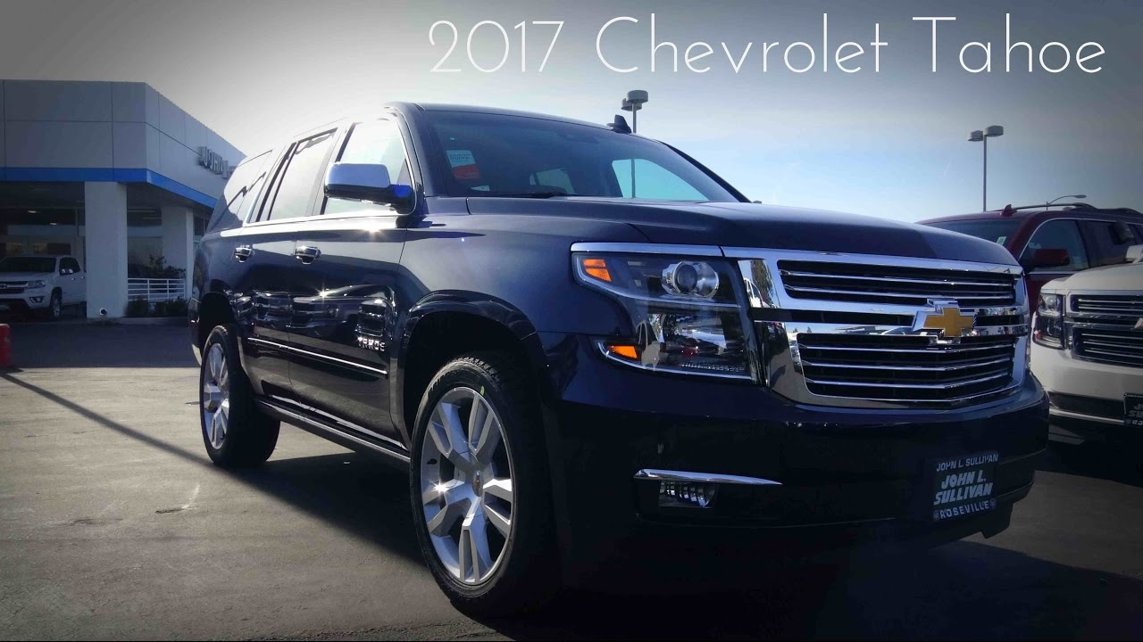 2017 chevrolet tahoe premier 5 3 l v8 review doovi. Black Bedroom Furniture Sets. Home Design Ideas