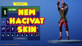 LEAKED NEW 'HACIVAT' SKIN IN-GAME FORTNITE SHOWCASE