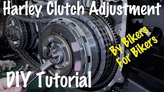 How to Adjust a Harley Clutch Internally & Clutch Cable | Biker Podcast