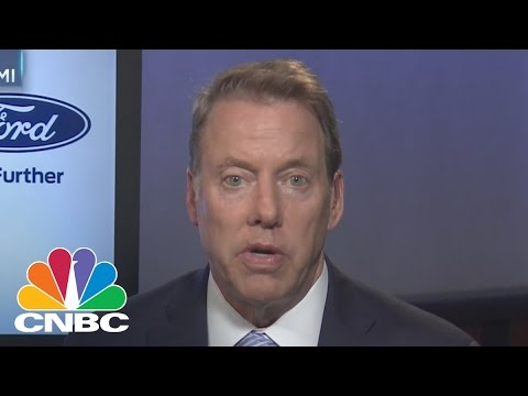 Bill Ford: I Didn't Fire Mark Fields, He Chose To Resign After A Discussion We Had   CNBC