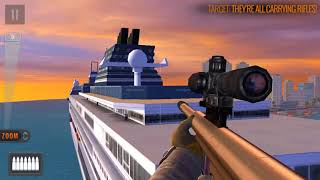 Sniper 3D Assassin:shoot to kill Region 9 COMPLETED (Adami island) Spec OPS 1-5