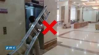 PMC - Các lưu ý khi sử dụng thang máy