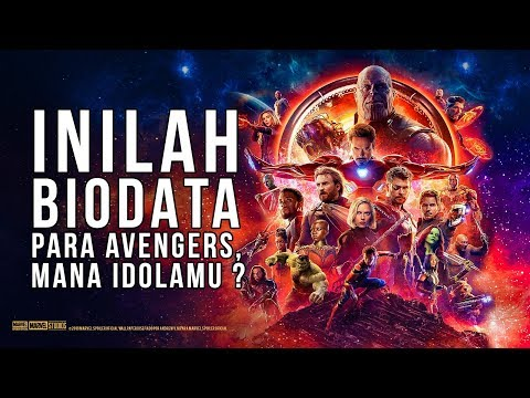 Superhero at avengers infinity war, let's see how old they are !!