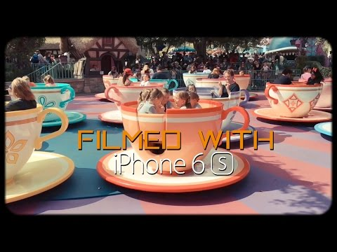 Disneyland filmed and Edited on Iphone 6s Plus