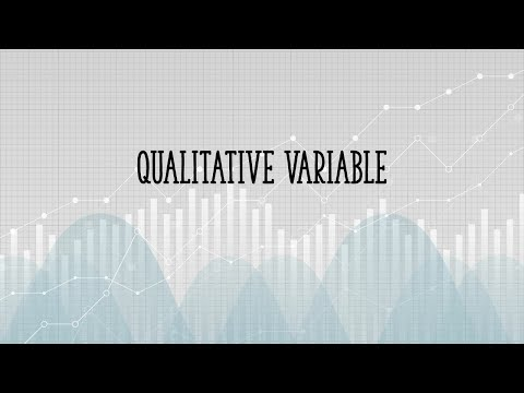 Qualitative Variable (Categorical Variable): Definition and