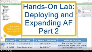 OSIsoft Hands-on Lab: het Implementeren van AF Deel 2 - het Bouwen van een Afgeleid Sjabloon