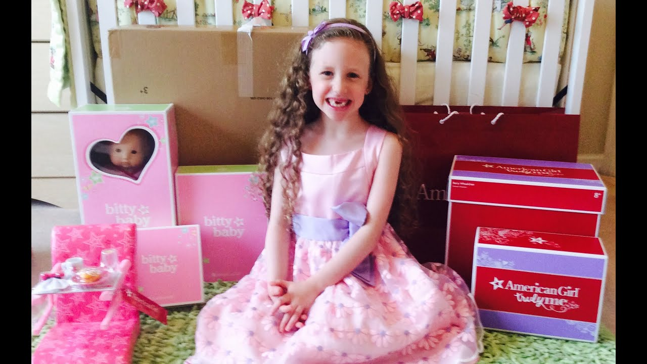 American Girl Doll Store Haul Part 2 Unboxing Bitty Baby Doll And