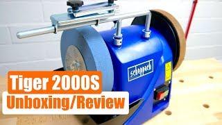 Unboxing - Review - Nassschleifer  Scheppach Tiger 2000S - TEST